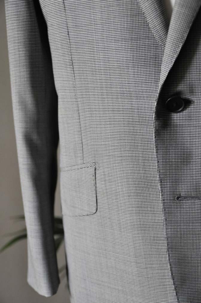 DSC02301 お客様のスーツの紹介-DORMEUIL Tropical Amadeus グレー千鳥格子 - 名古屋の完全予約制オーダースーツ専門店DEFFERT