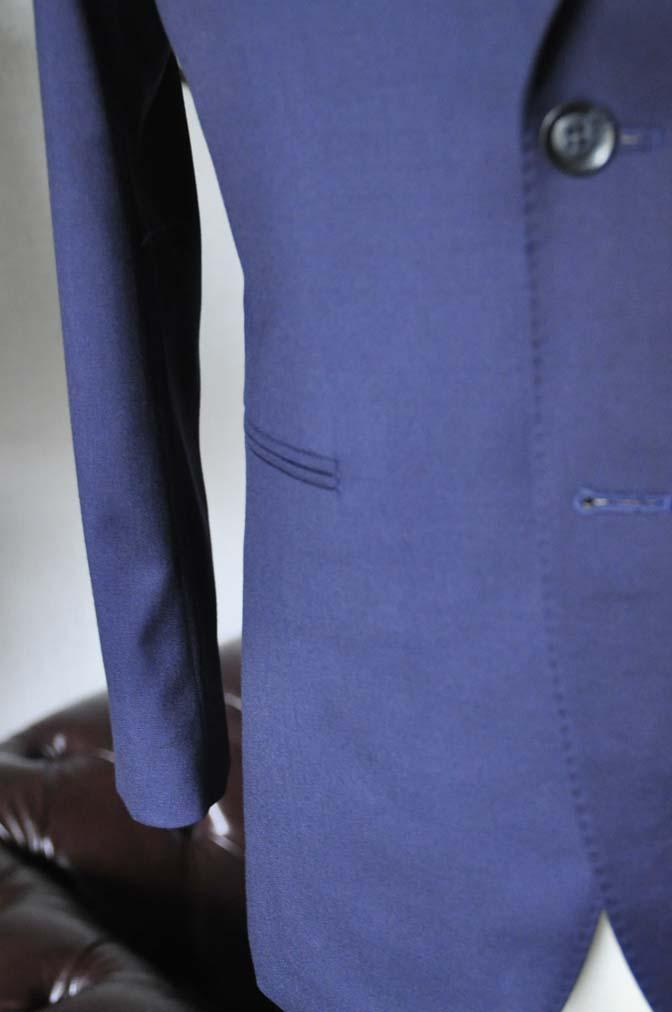 DSC0232-2 お客様のスーツの紹介- Biellesi 無地ネイビースーツ-