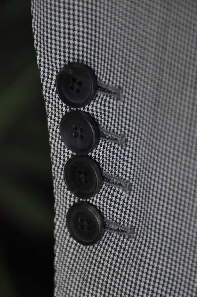 DSC02323 お客様のスーツの紹介-DORMEUIL Tropical Amadeus グレー千鳥格子 - 名古屋の完全予約制オーダースーツ専門店DEFFERT