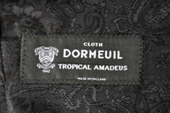 DSC02345 お客様のスーツの紹介-DORMEUIL Tropical Amadeus グレー千鳥格子 - 名古屋の完全予約制オーダースーツ専門店DEFFERT
