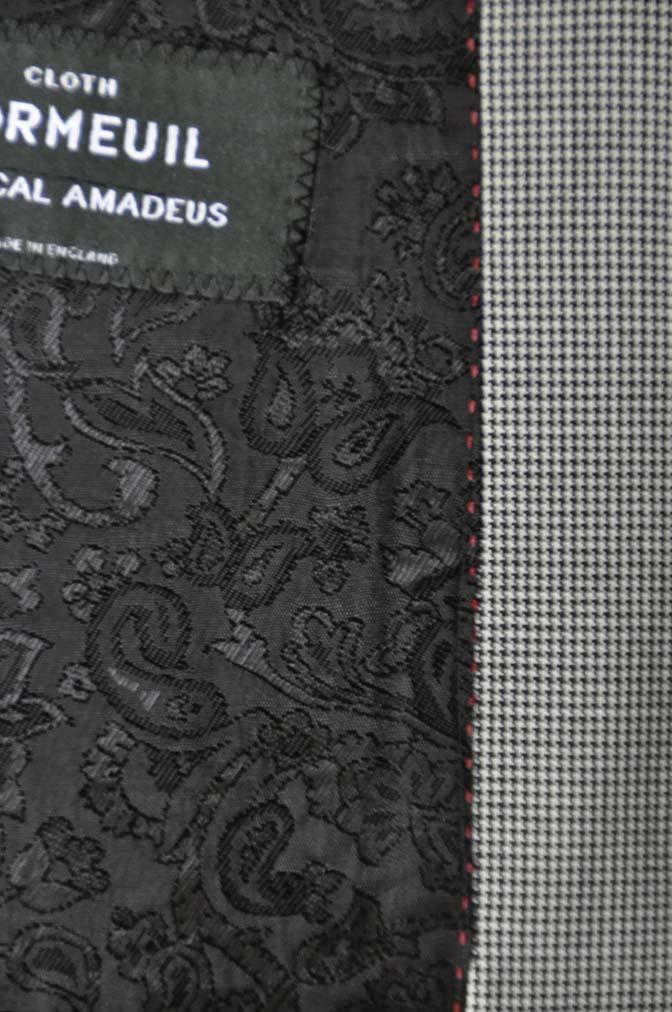 DSC02372 お客様のスーツの紹介-DORMEUIL Tropical Amadeus グレー千鳥格子 - 名古屋の完全予約制オーダースーツ専門店DEFFERT