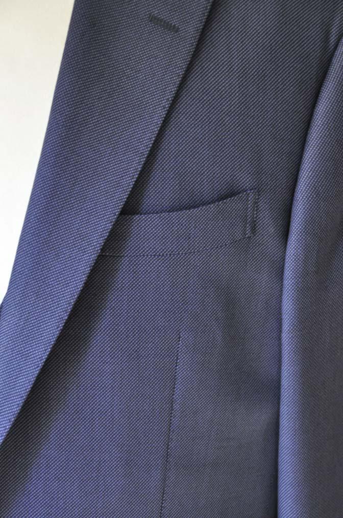 DSC0243-1 お客様のスーツの紹介- Biellesi ネイビーバーズアイスリーピース-