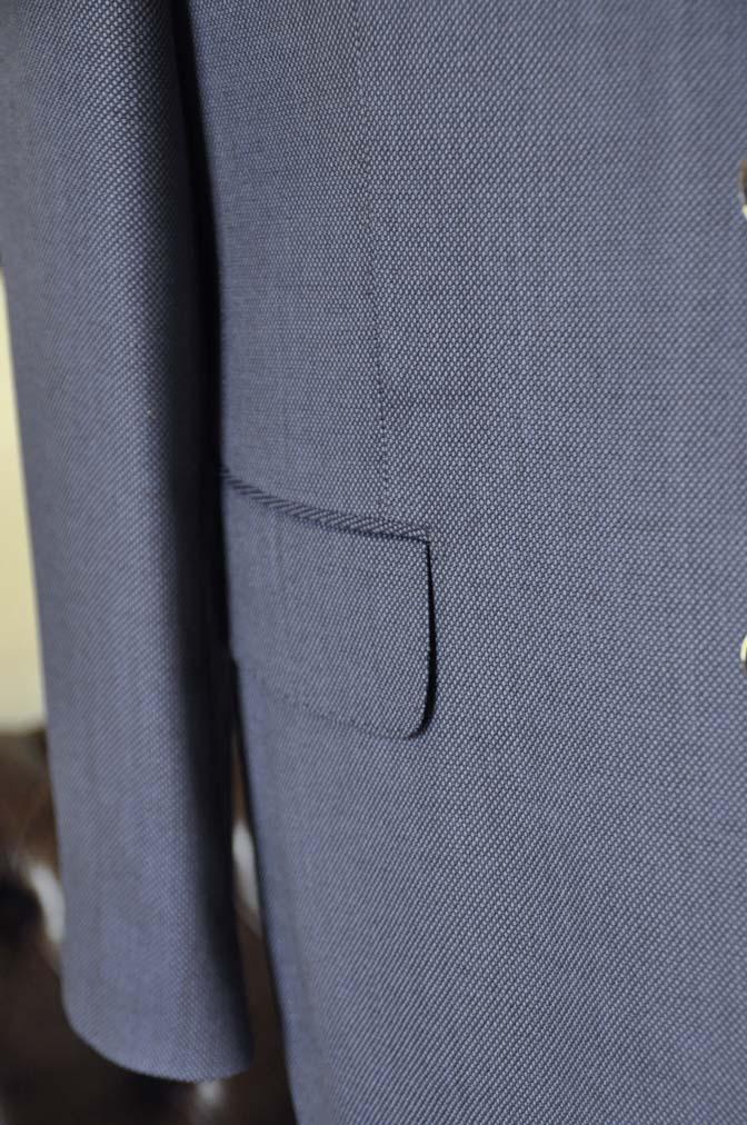 DSC0245-1 お客様のスーツの紹介- Biellesi ネイビーバーズアイスリーピース-