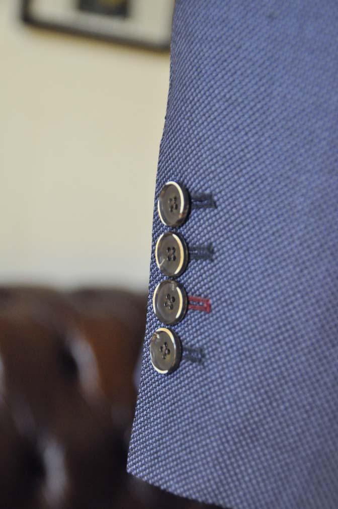 DSC0246 お客様のスーツの紹介- Biellesi ネイビーバーズアイスリーピース-