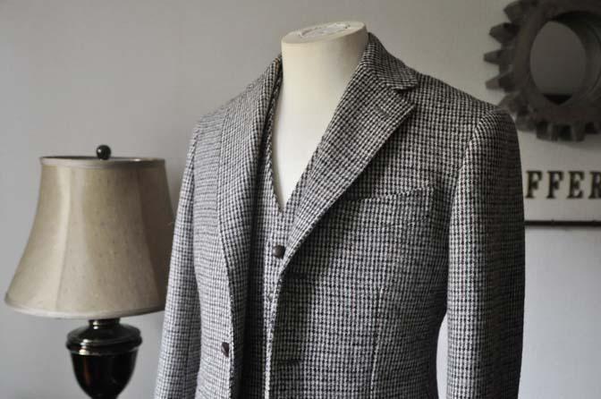 DSC0255-2 ジャケット、ベストの紹介- Harris Tweed- 名古屋の完全予約制オーダースーツ専門店DEFFERT