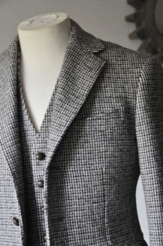 DSC0257-2 ジャケット、ベストの紹介- Harris Tweed- 名古屋の完全予約制オーダースーツ専門店DEFFERT