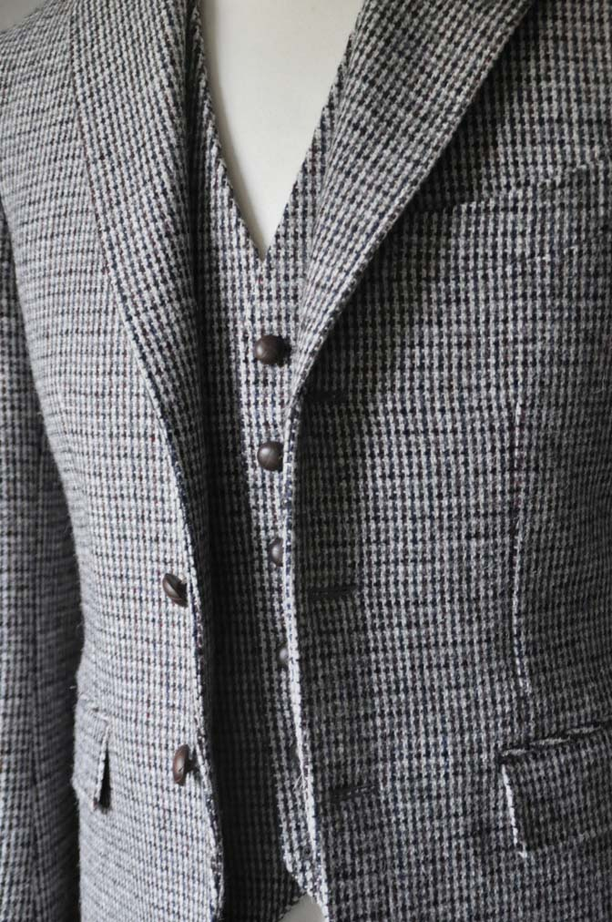DSC0259-2 ジャケット、ベストの紹介- Harris Tweed- 名古屋の完全予約制オーダースーツ専門店DEFFERT