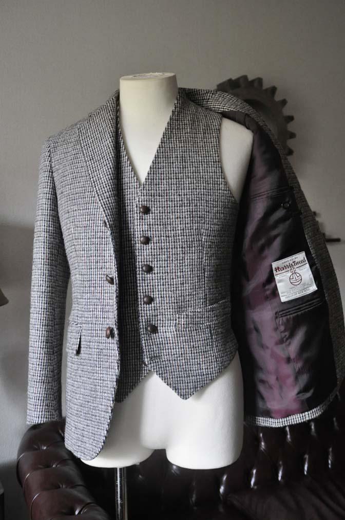 DSC0262-1 ジャケット、ベストの紹介- Harris Tweed- 名古屋の完全予約制オーダースーツ専門店DEFFERT