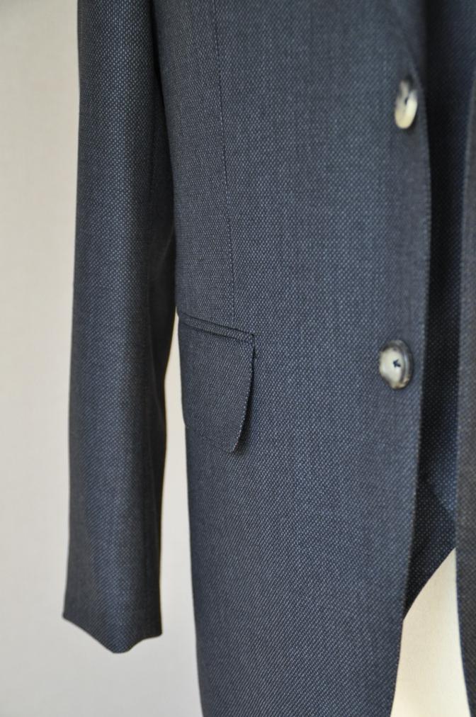 DSC0263 お客様のスーツの紹介- BIELLESI グレーバーズアイ スリーピース-