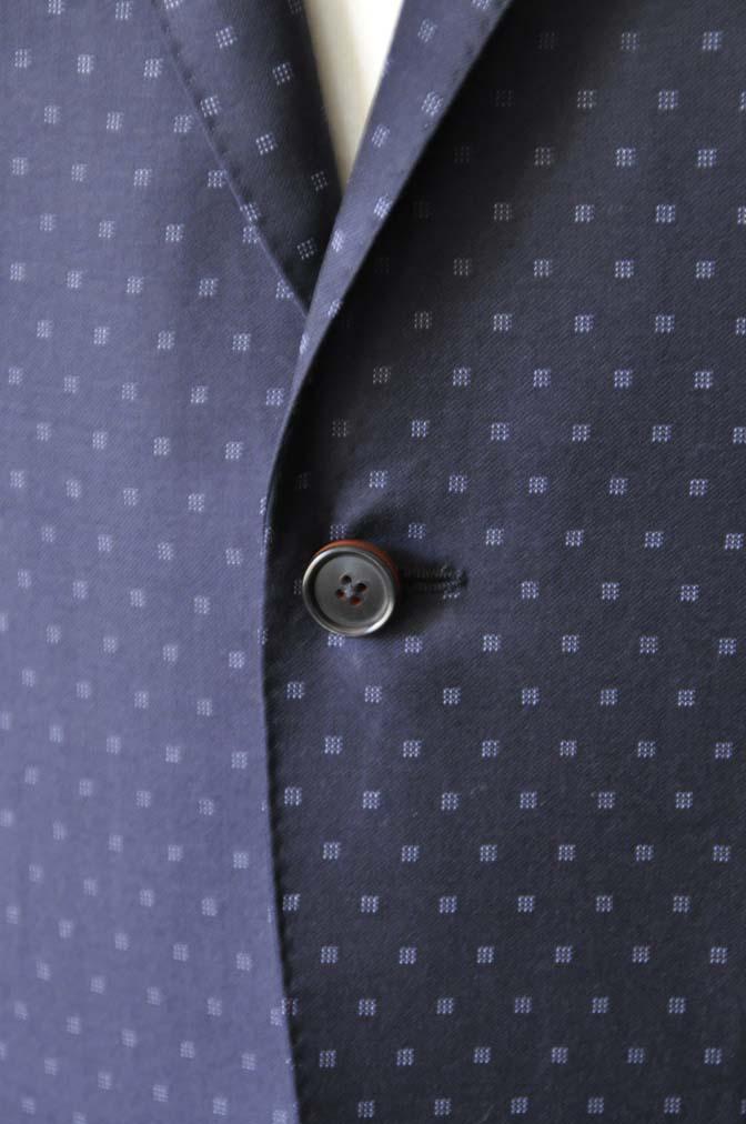 DSC0272-1 お客様のスーツの紹介- Canonico ネイビースーツ-