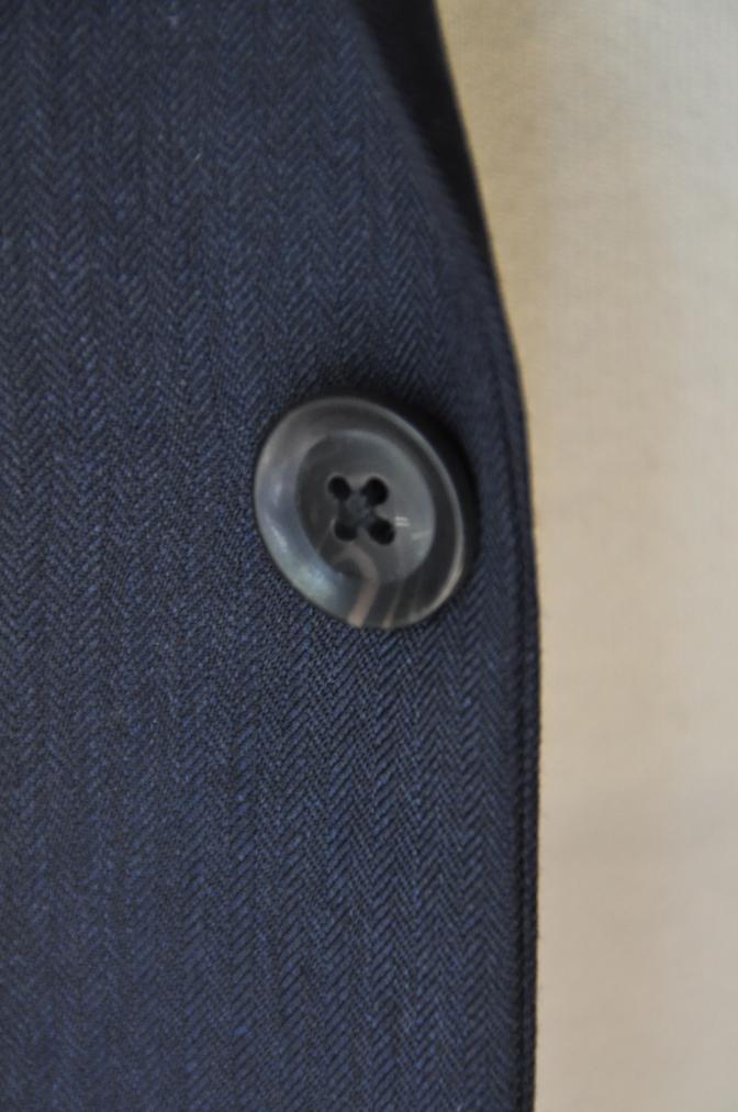 DSC0279 お客様のスーツの紹介-BIELLESI ネイビーヘリンボーン-
