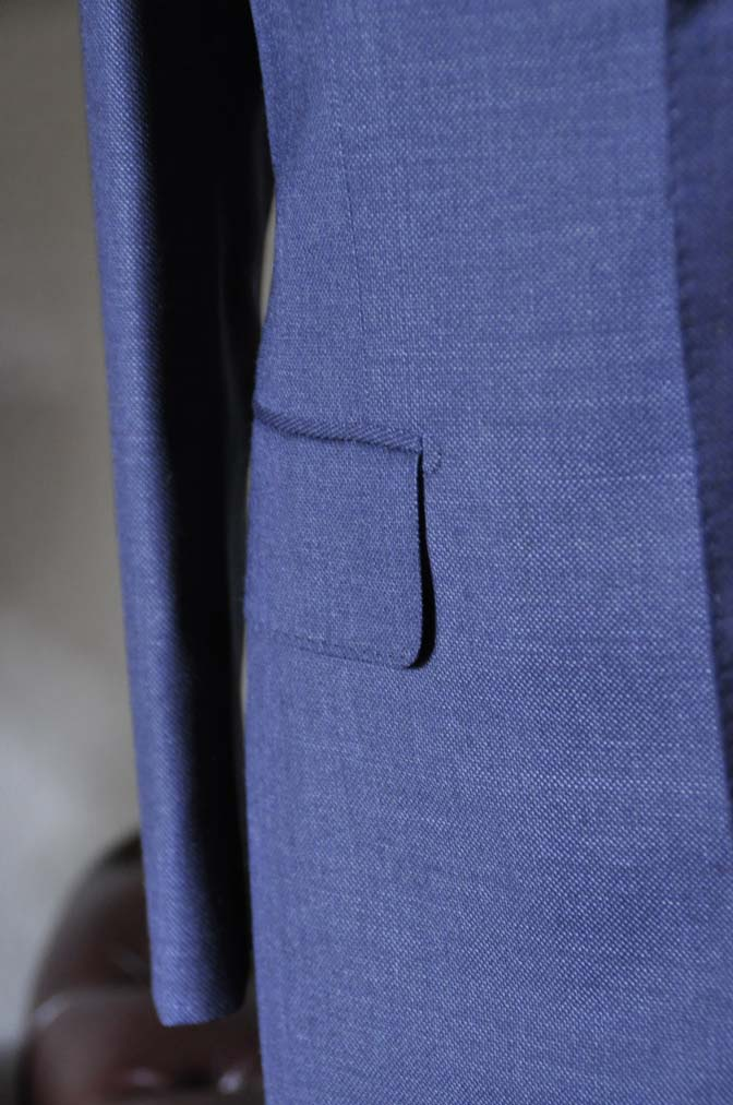 DSC0281-2 お客様のスーツの紹介- Biellesi 無地ネイビースーツ-