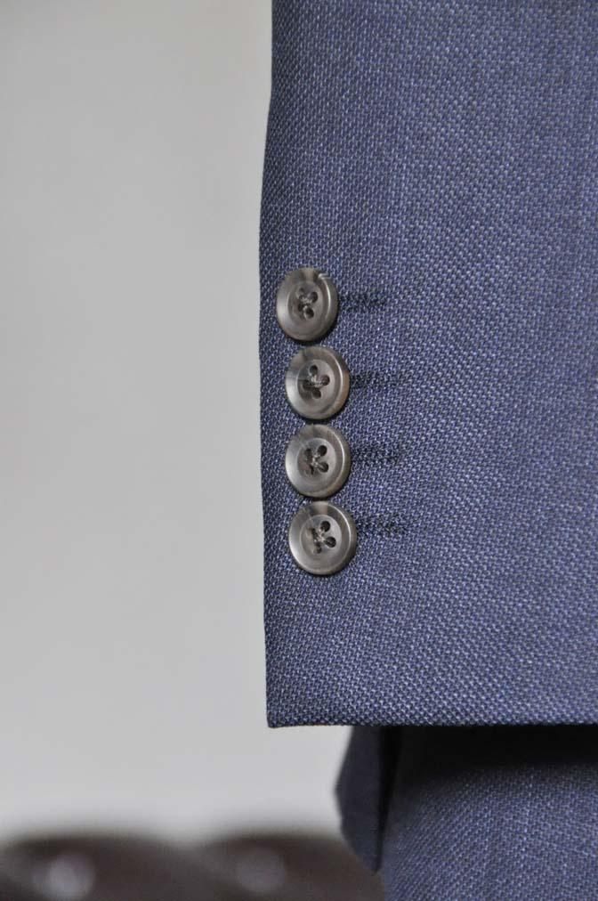 DSC0282-1 お客様のスーツの紹介- Biellesi 無地ネイビースーツ-