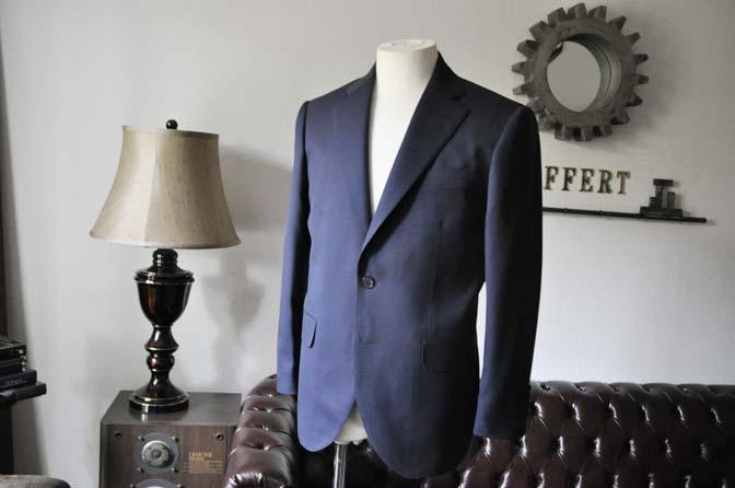 DSC0310-1 お客様のスーツの紹介- DARROW DALE ネイビースーツ-