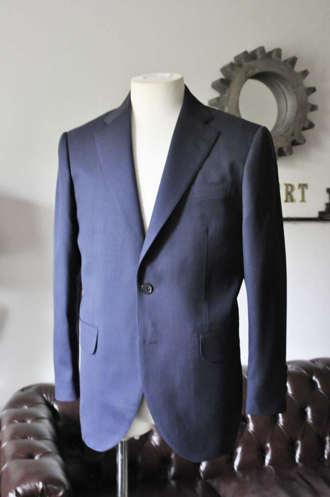 DSC0311-2 お客様のスーツの紹介- DARROW DALE ネイビースーツ-