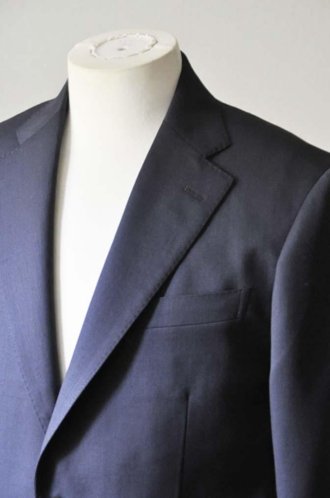 DSC0312-1 お客様のスーツの紹介- DARROW DALE ネイビースーツ-