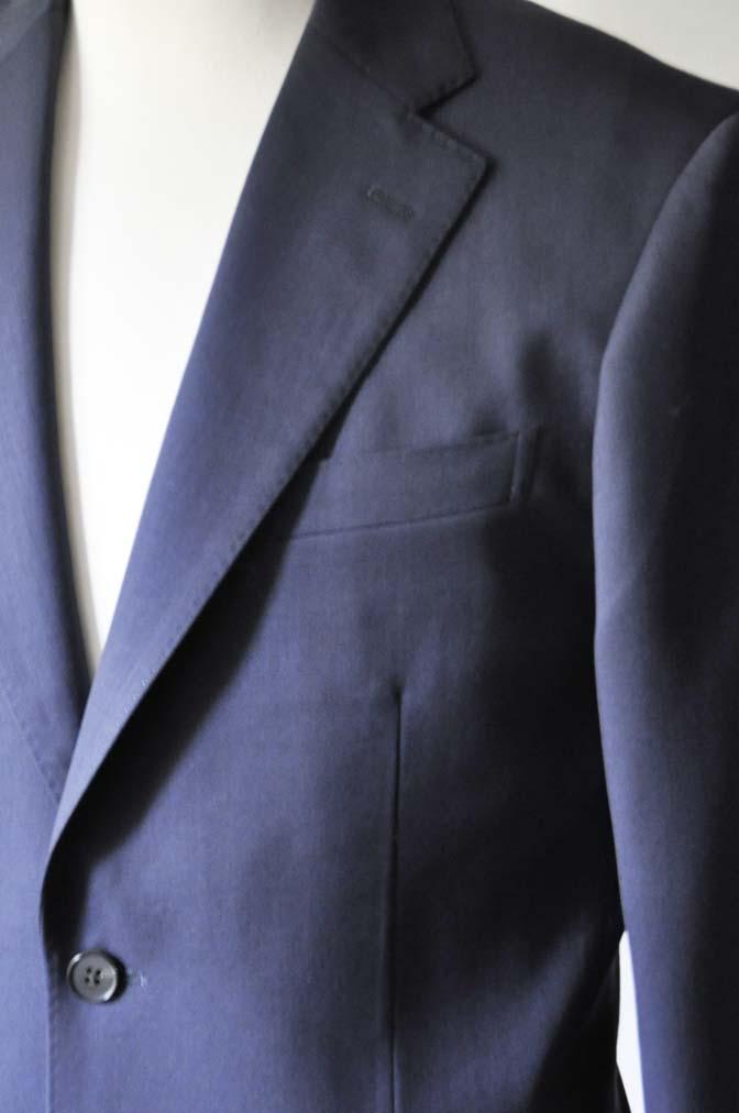 DSC0313-2 お客様のスーツの紹介- DARROW DALE ネイビースーツ-