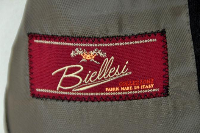 DSC03151 お客様のスーツの紹介-BIELLESI ブラウンチェック-
