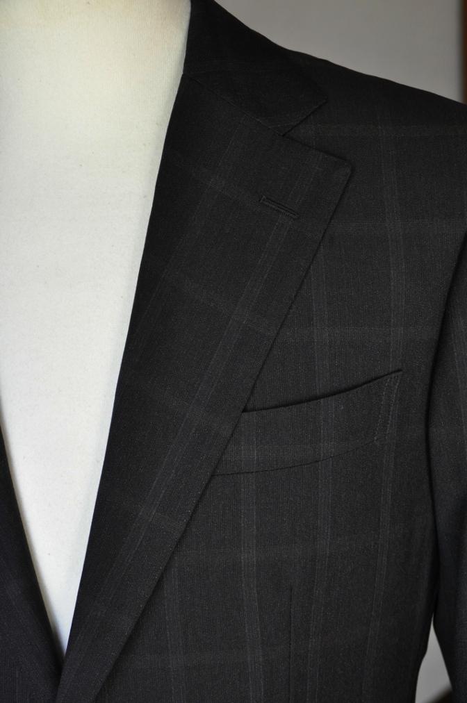 DSC03171 お客様のスーツの紹介-BIELLESI ブラウンチェック-