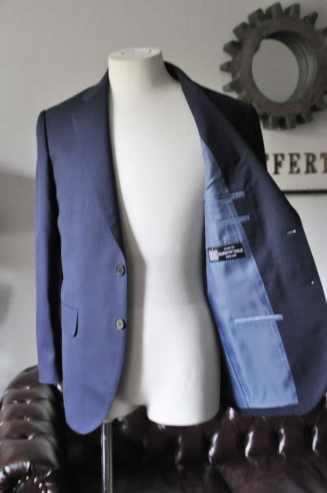 DSC0318-1 お客様のスーツの紹介- DARROW DALE ネイビースーツ-
