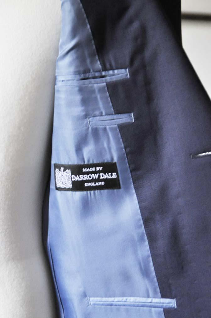 DSC0319-2 お客様のスーツの紹介- DARROW DALE ネイビースーツ-