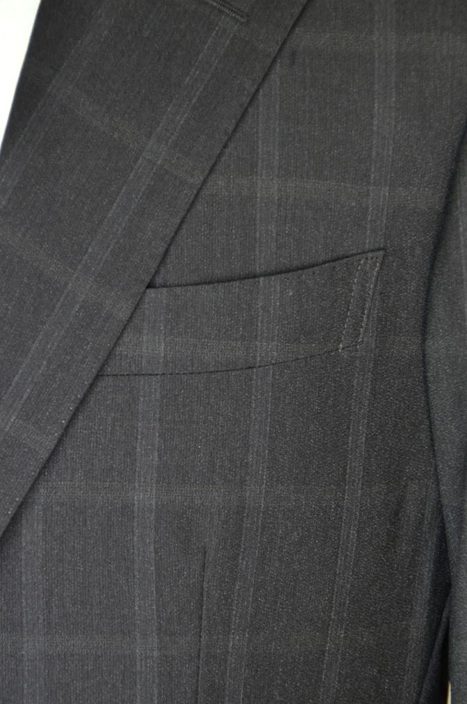 DSC03191 お客様のスーツの紹介-BIELLESI ブラウンチェック-