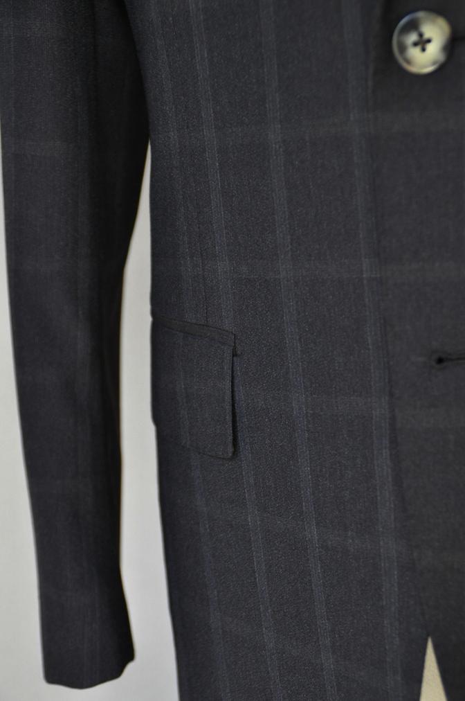 DSC03233 お客様のスーツの紹介-BIELLESI ブラウンチェック-