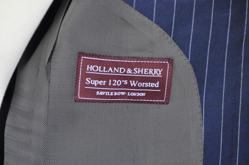 DSC0331-1024x680 オーダースーツ- HOLLAND&SHERRY ネイビーストライプ-