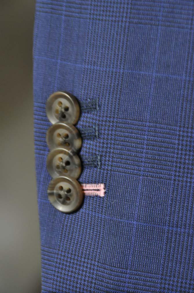 DSC0353-1 お客様のスーツの紹介- Biellesi ネイビーチェックスリーピース-
