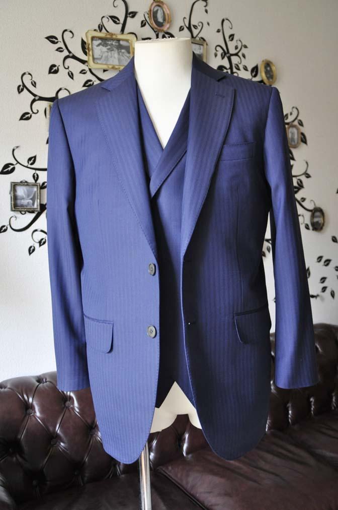 DSC0355-3 お客様のスーツの紹介-CANONICOネイビーダブルジレスリーピース-