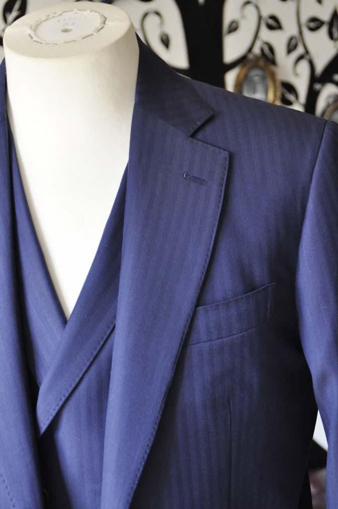 DSC0357-3 お客様のスーツの紹介-CANONICOネイビーダブルジレスリーピース-