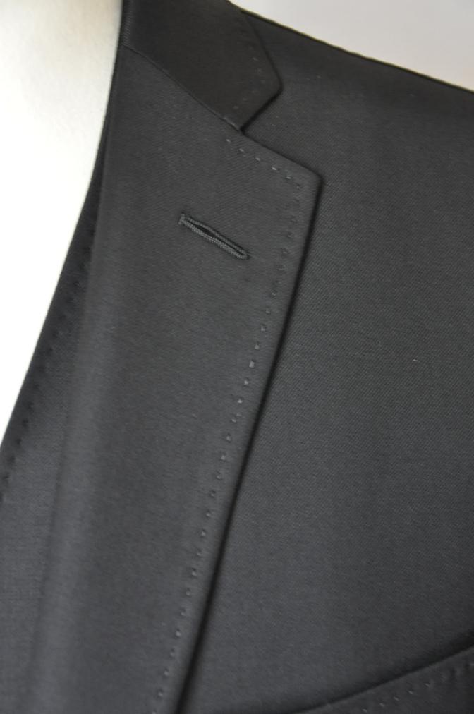 DSC03581 お客様のスーツの紹介-CANONICO ブラックスリーピース- 名古屋の完全予約制オーダースーツ専門店DEFFERT