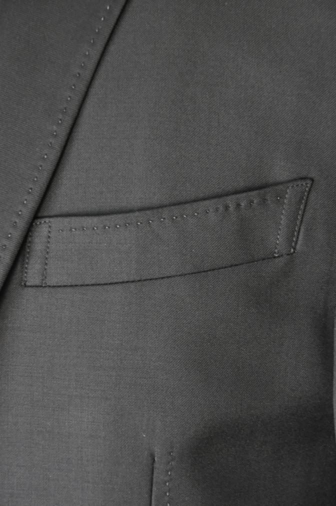 DSC03591 お客様のスーツの紹介-CANONICO ブラックスリーピース- 名古屋の完全予約制オーダースーツ専門店DEFFERT