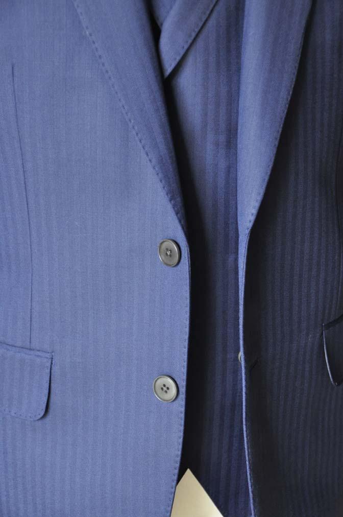 DSC0360-4 お客様のスーツの紹介-CANONICOネイビーダブルジレスリーピース-
