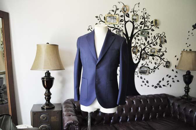 DSC0361-5 お客様のジャケットの紹介-CANONICO ネイビージャケット-