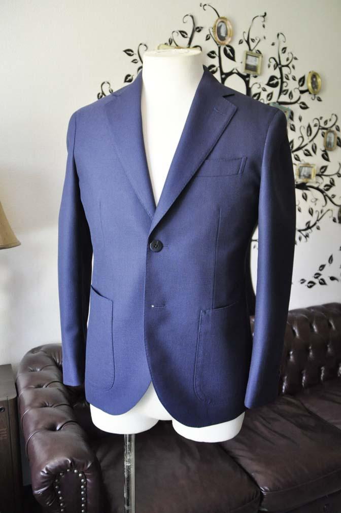 DSC0363-3 お客様のジャケットの紹介-CANONICO ネイビージャケット-