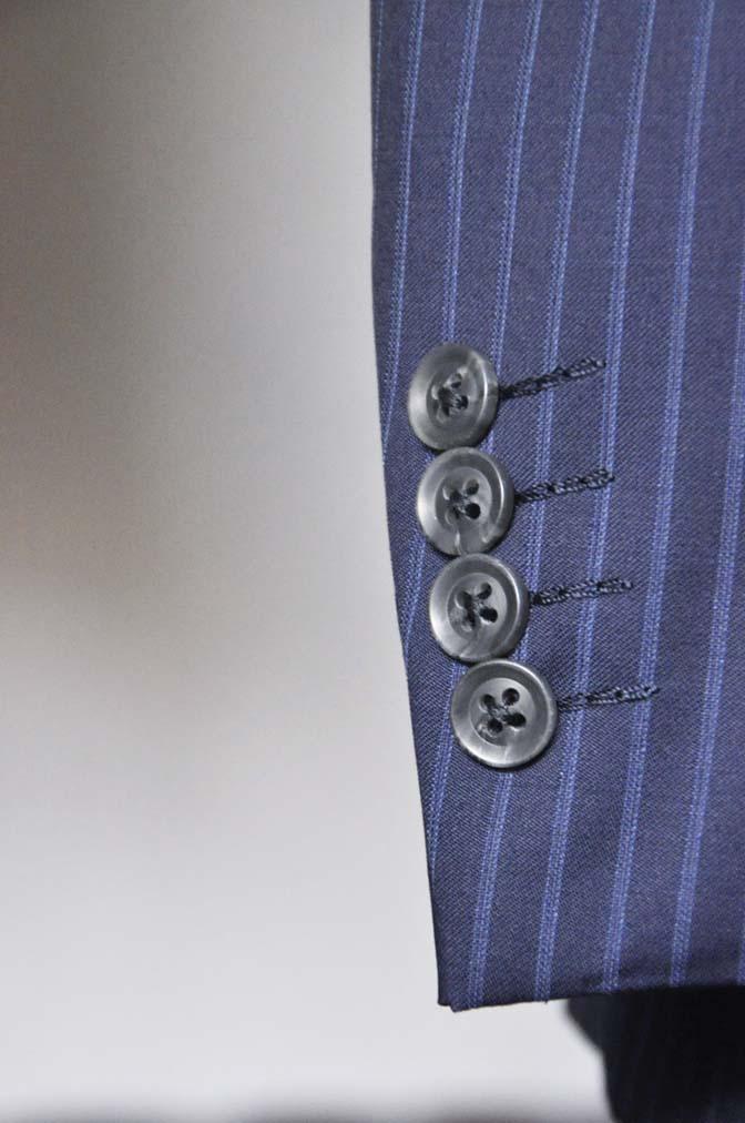 DSC0366-3 お客様のスーツの紹介- CANONICOネイビーストライプ- 名古屋の完全予約制オーダースーツ専門店DEFFERT