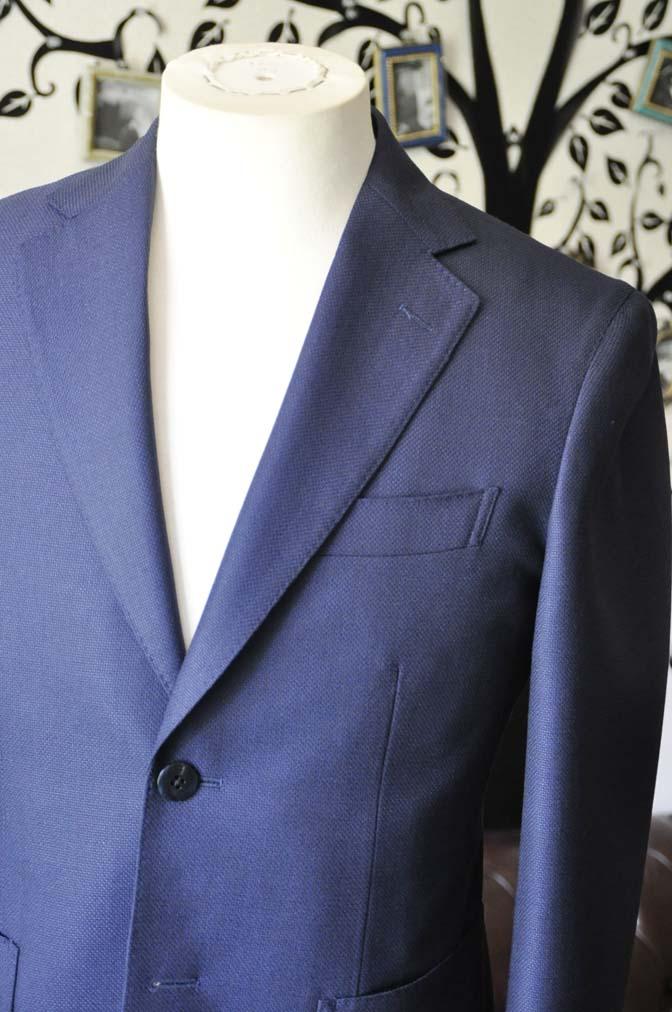 DSC0366-6 お客様のジャケットの紹介-CANONICO ネイビージャケット-