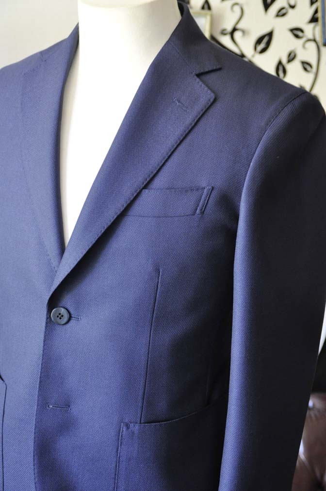 DSC0367-6 お客様のジャケットの紹介-CANONICO ネイビージャケット-