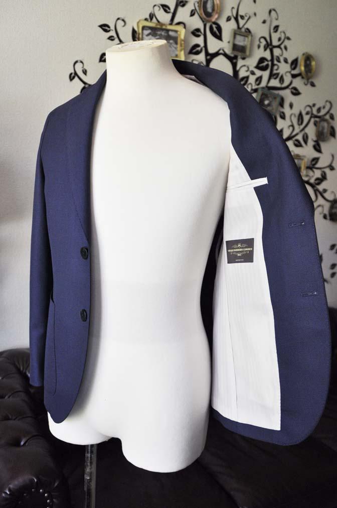 DSC0371-3 お客様のジャケットの紹介-CANONICO ネイビージャケット-