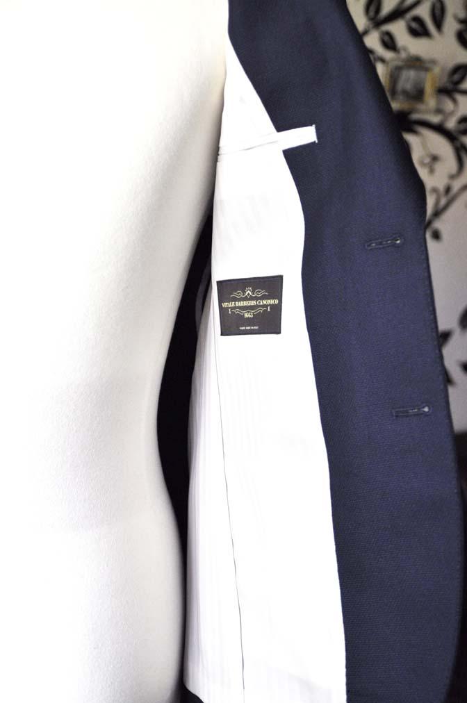 DSC0372-2 お客様のジャケットの紹介-CANONICO ネイビージャケット-