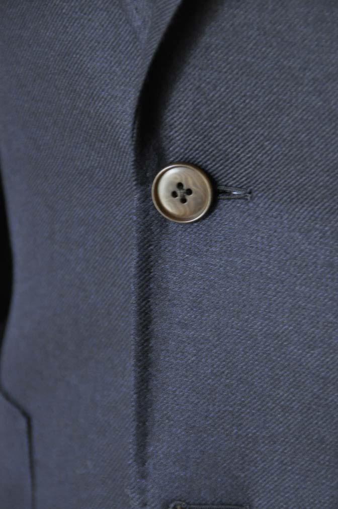 DSC03811 お客様のジャケットの紹介-E.THOMAS 無地ネイビーツイル ジャケット-