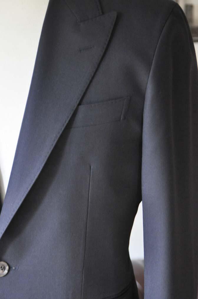DSC0396-2 お客様のスーツの紹介-無地ネイビースーツ-