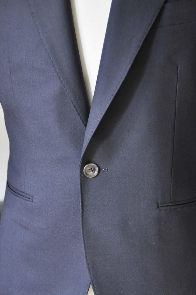 DSC0397-1 お客様のスーツの紹介-無地ネイビースーツ-