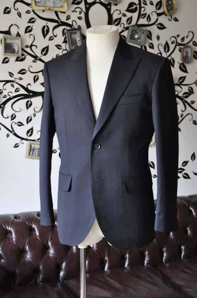 DSC0400-3 お客様のスーツの紹介-Biellesiネイビースーツ- 名古屋の完全予約制オーダースーツ専門店DEFFERT