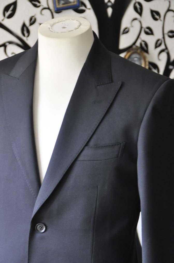 DSC0401-3 お客様のスーツの紹介-Biellesiネイビースーツ- 名古屋の完全予約制オーダースーツ専門店DEFFERT