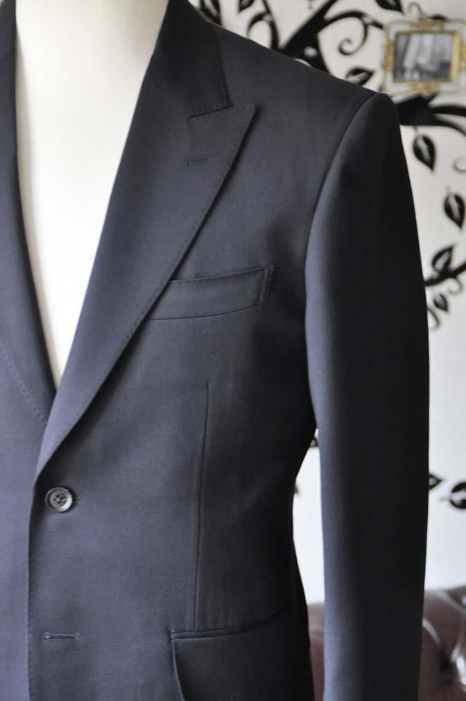 DSC0402-2 お客様のスーツの紹介-Biellesiネイビースーツ- 名古屋の完全予約制オーダースーツ専門店DEFFERT