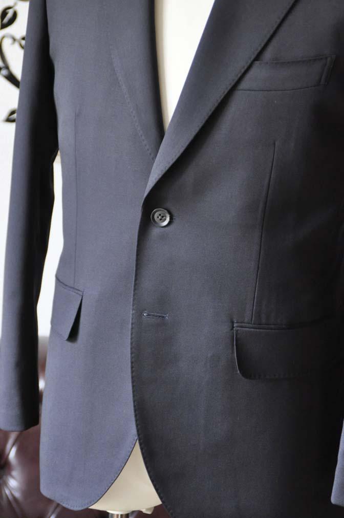 DSC0403-3 お客様のスーツの紹介-Biellesiネイビースーツ- 名古屋の完全予約制オーダースーツ専門店DEFFERT