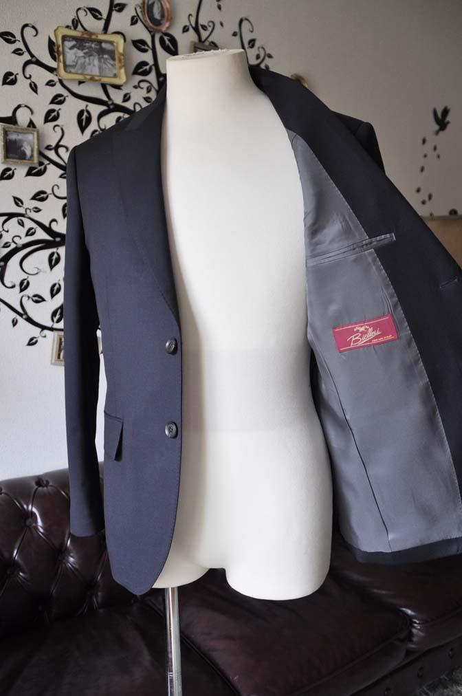 DSC0406-2 お客様のスーツの紹介-Biellesiネイビースーツ- 名古屋の完全予約制オーダースーツ専門店DEFFERT