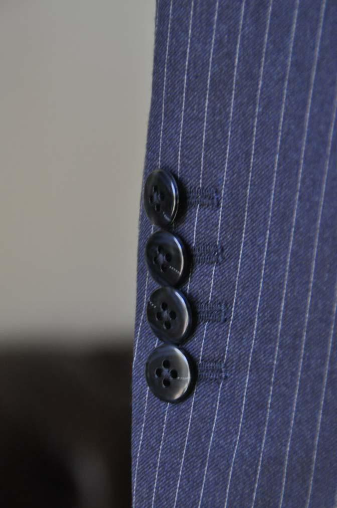 DSC04202 お客様のスーツの紹介- REDA ネイビーストライプスーツ-